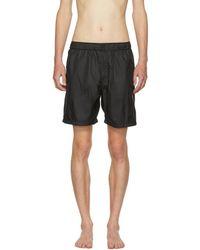 Saturdays NYC - Black Trent Solid Swim Shorts - Lyst