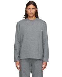 Ermenegildo Zegna グレー Reconnect Mono スウェットシャツ