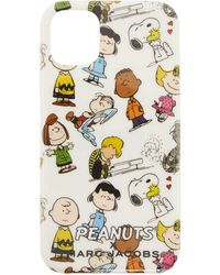 Marc Jacobs - Peanuts Edition ホワイト Iphone 11 ケース - Lyst