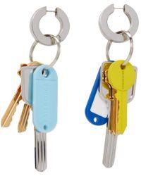 Balenciaga - Multicolor Key Earrings - Lyst