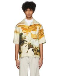Acne Studios Simon Fluid Horse Vacation Shirt - Multicolor