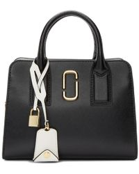 Marc Jacobs - Black And Pink Little Big Shot Bag - Lyst