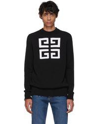 Givenchy - ブラック 4g セーター - Lyst