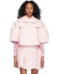 ShuShu/Tong Pink Oversized Jacket