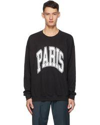 Noon Goons ブラック All City Paris スウェットシャツ