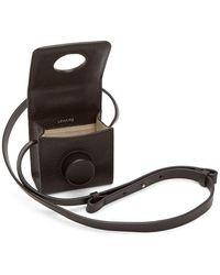 Lemaire ブラウン ミニ カメラ バッグ