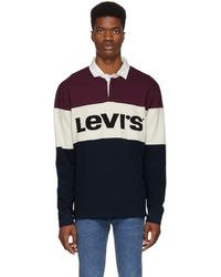 Levi's - Levi's Mighty Blocked Logo Rugby Shirt - Lyst