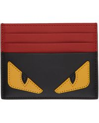 Fendi マルチカラー Bag Bugs カード ケース