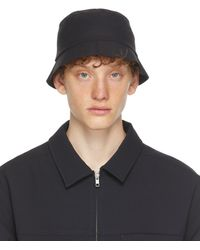 Affix Black Stow Bucket Hat