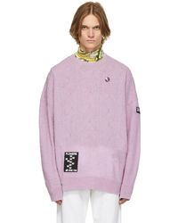 Raf Simons パープル オーバーサイズ セーター