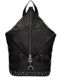 Jimmy Choo - Black Fitzroy Stars Backpack - Lyst