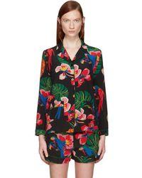 Valentino - Multicolour Tropical Dream Shirt - Lyst