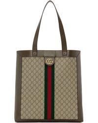 Gucci Cabas brun GG Ophidia - Neutre