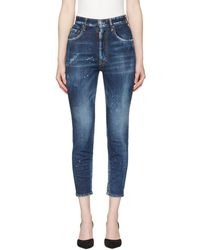 DSquared² - Blue Twiggy Jeans - Lyst