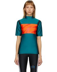 Martine Rose Ssense Exclusive Green Cycling T-shirt - Multicolor