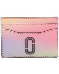 Marc Jacobs Women's The Snapshot Airbrush Card Case In White