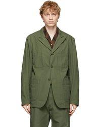 Engineered Garments - グリーン Bedford ジャケット - Lyst