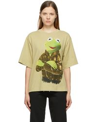 Moncler Genius 2 Moncler 1952 コレクション Kermit The Frog T シャツ - グリーン