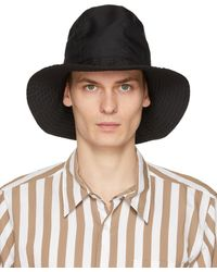 Engineered Garments - ブラック Dome ハット - Lyst