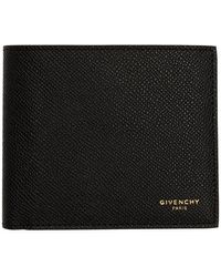 Givenchy Black Contrast Bifold Wallet