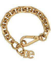 Dolce & Gabbana ゴールド アンティーク チェーン リンク ブレスレット - メタリック