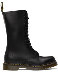 Dr. Martens - Black Smooth 1914 Boots - Lyst