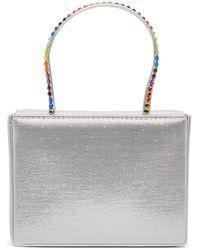 AMINA MUADDI Silver Super Amini Gilda Bag - Multicolour