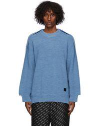 Ambush ブルー Fin セーター