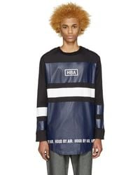 Hood By Air - Tricolor Striped T-shirt - Lyst