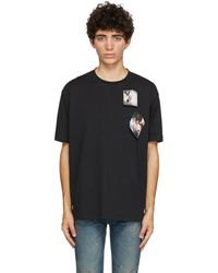 Raf Simons - Fred Perry エディション ブラック Printed Patch T シャツ - Lyst