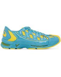 Kiko Kostadinov Blue And Yellow Asics Edition Gel-kiril Trainers