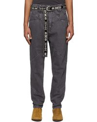 Isabel Marant Black Faded Jowland Jeans
