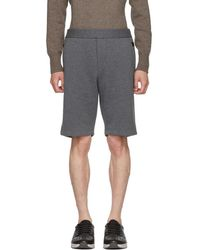 Bottega Veneta - Grey Sweat Shorts - Lyst