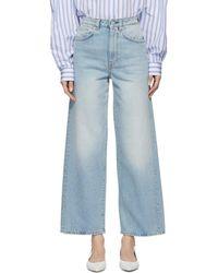 Totême  - Blue Flair Jeans - Lyst