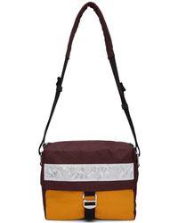 Acne Studios - Burgundy Messenger Bag - Lyst