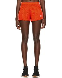 Alexander Wang - Orange Track Shorts - Lyst