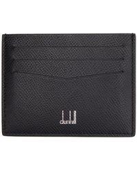 Dunhill ブラック レザー Cadogan カード ケース