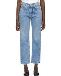 Maison Margiela - Blue Denim Jeans - Lyst