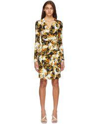 Versace - ホワイト Barocco ドレス - Lyst