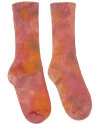 Collina Strada Chaussettes multicolores teintes à la main