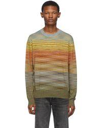 Missoni Multicolor Jersey Sweater