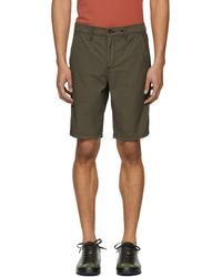 Rag & Bone - Green Standard Issue Army Shorts - Lyst