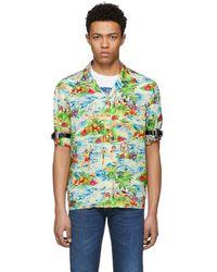 DSquared² - Multicolor Printed Hawaiian Shirt - Lyst