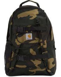 Carhartt WIP Khaki Camo Kickflip Backpack - Black