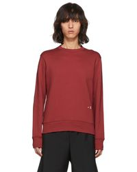 Acne Studios Red Faise Sweatshirt