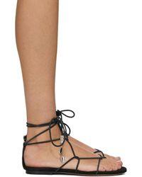 Isabel Marant Black Jindia Sandals - Multicolour