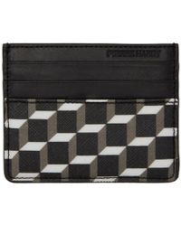 Pierre Hardy - Black And White Cube Perspective Card Holder - Lyst