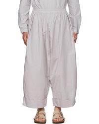 Toogood Grey 'the Baker' Trousers