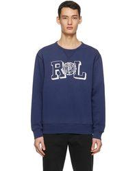 Polo Ralph Lauren ブルー スウェットシャツ
