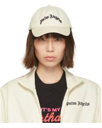 Palm Angels Off-white Arch Logo Cap